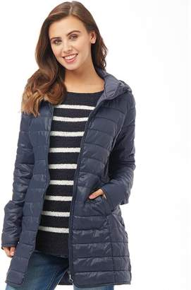Only Womens Tahoe Hooded Coat Sky Captain