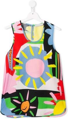 Stella McCartney TEEN printed top