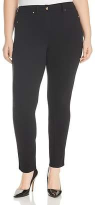 Marina Rinaldi x Ashley Graham Odalisca Slim-Leg Pants