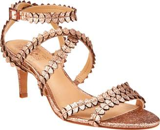 Vince Camuto Leather Multi Strap Sandals - Yuria