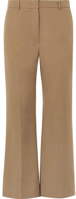 Joseph Rone Wool-gabardine Wide-leg Pants - Brown