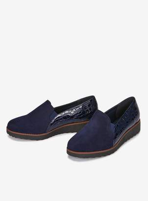 370ec9ca537 Navy Loafers Flatform Women - ShopStyle UK
