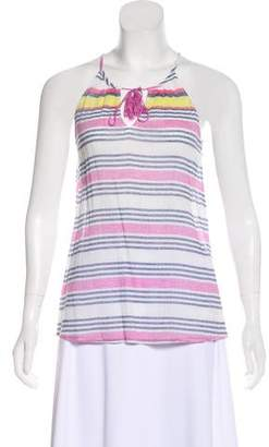 Soft Joie Striped Sleeveless Top