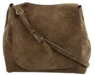 The Row Suede Hunting 9 Bag