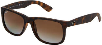 Ray-Ban RB 4165 Matte Tortoise Shell-Inspired Wayfarer Sunglasses