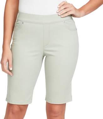 Gloria Vanderbilt Women's Avery Pull-On Bermuda Jean Shorts