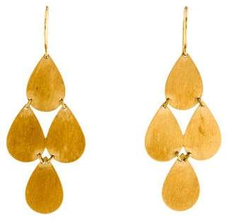 Irene Neuwirth 18K Chandelier Earrings