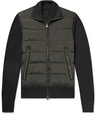 Tom Ford Shell-Panelled Merino Wool Down Jacket
