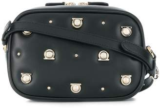 Salvatore Ferragamo studded Gancio crossbody bag