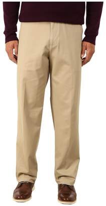 Dockers Comfort Khaki Stretch Relaxed Fit Flat Front Men's Casual Pants