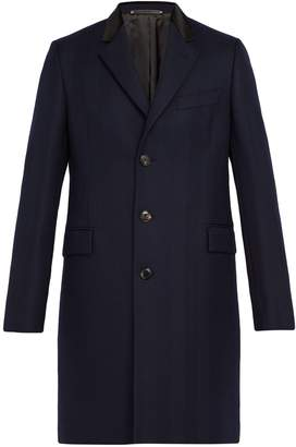 Paul Smith Wool-herringbone overcoat