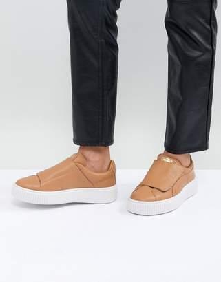 Puma Basket Platform Sneakers - ShopStyle 42708c193