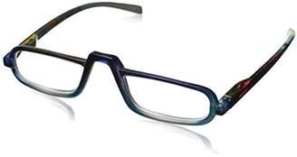 Peepers Unisex-Adult Lagoon 823400 Rectangular Reading Glasses