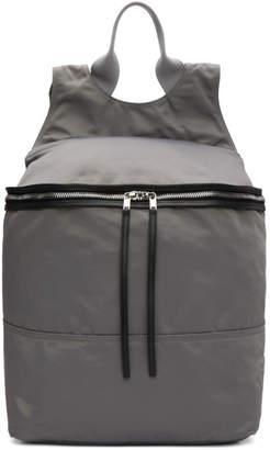 Rick Owens Grey Techno Rucksack Backpack