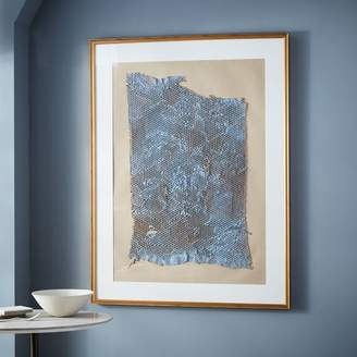 west elm Simply Framed Oversized Gallery Frame – Antique Gold/Mat
