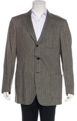 John Varvatos Linen & Wool Deconstructed Blazer