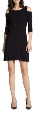 Bailey 44 Cold-Shoulder Dress $150 thestylecure.com