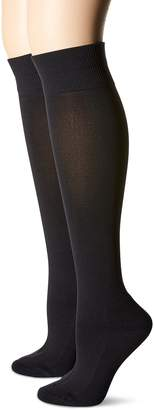 Hot Sox Women's 2 Pack Collection Knee High Socks