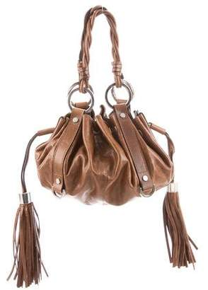 fa6126d3b1 Leather Fringe Hobo Bag - ShopStyle