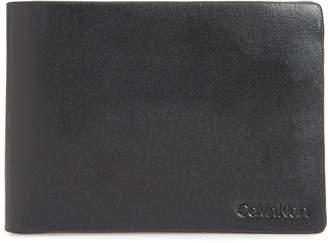 Calvin Klein Slim Leather Bifold Wallet
