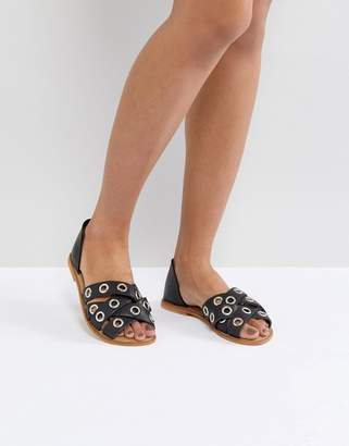 Asos Design JUSTIFY Leather Summer Shoes