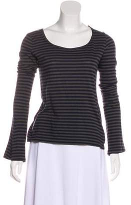 Hache Striped Long Sleeve Top