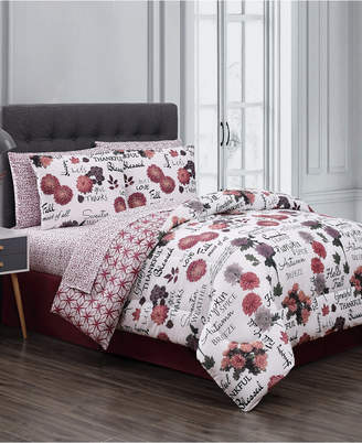 Geneva Home Fashion Mazedaze 8-Pc King Bed in a Bag