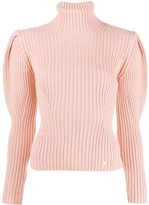 Elisabetta Franchi roll neck knitted top