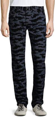 True Religion Men's Rocco Body Rinse Skinny Jeans
