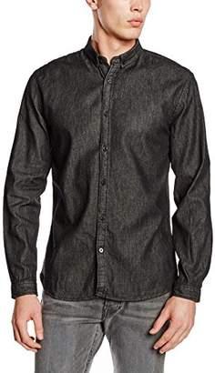 Lindbergh Men's Denim L/s Leisure Shirt,Collar size: 36
