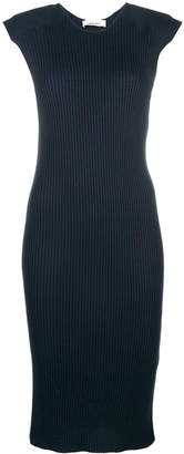 Circus Hotel fitted ribbed dress