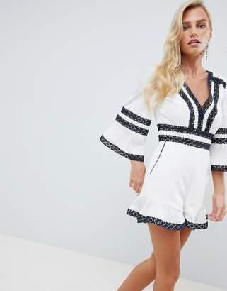 326463d924 Lace Up Playsuit - ShopStyle UK