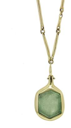 Ten Thousand Things One-Of-A-Kind Emerald Pendant Necklace
