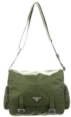 Prada Tessuto Nylon Messenger Bag