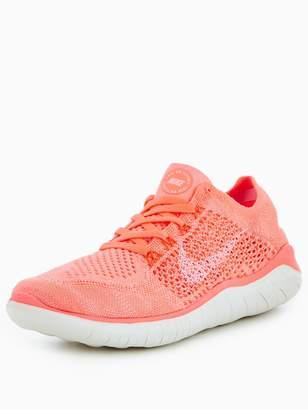 Nike Free Run Flyknit - Pink