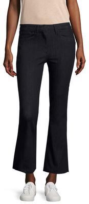 3x1High Rise Wide Cuff Cropped Jean