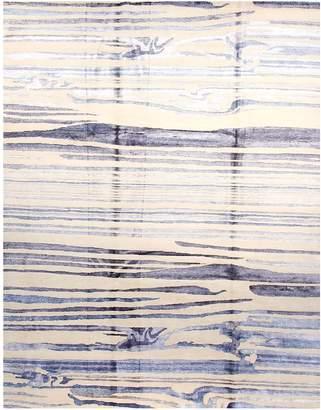 F.J. Kashanian Odelia Hand-Knotted Wool & Silk Rug