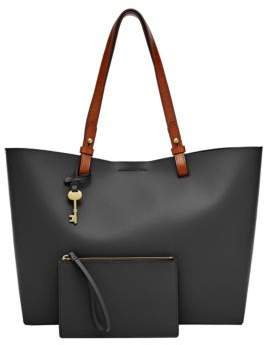 Fossil Rachel Solid Leather Tote