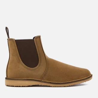 Red Wing Shoes Men's Weekender Leather Chelsea Boots - Olive Mohave