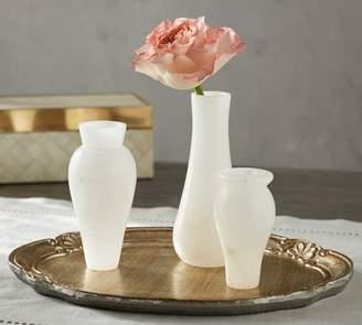 Pottery Barn Monique Lhuillier Grace Bud Vases - Set of 3