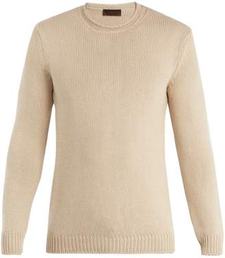 Altea Ribbed-knit cotton sweater