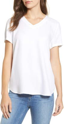 BeachLunchLounge Becca Short Sleeve Rayon Top