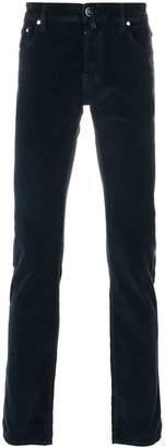 Jacob Cohen velvet effect jeans