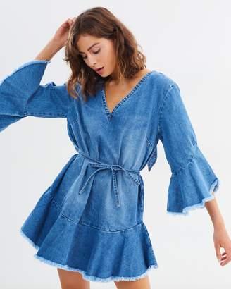 MLM Label Hazel Denim Dress