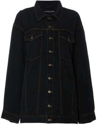 Y/Project Y / Project Oversized Shoulder Panel Denim Jacket