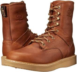 Georgia Boot Wedge 8 Lace Up Men's Work Lace-up Boots
