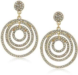 """ABS by Allen Schwartz Prom Queen"""" Orbital Pierced Drop Earrings"""