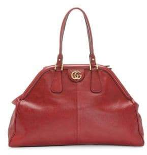 Gucci Women's Large RE(BELLE) Leather Tote - Black
