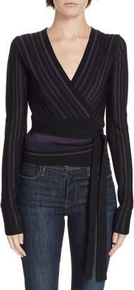 Diane von Furstenberg Laren Wrap Sweater