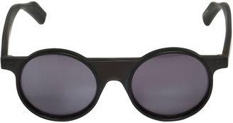 Round Acetate Sunglasses $633 thestylecure.com